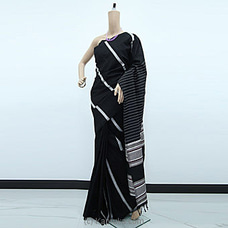 Black Rayon Pallu Saree-RP0107 By cotton Weavers at Kapruka Online for specialGifts