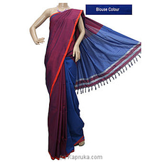 Purple Color Rayon Mixed Cotton Saree-S1218 By cotton Weavers at Kapruka Online for specialGifts