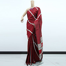 Red Color Rayon Pallu Saree-RP0102 By cotton Weavers at Kapruka Online for specialGifts