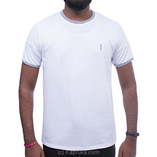 GOLF O NECK TSHIRTS-UF501 WHITE By Urban Golf at Kapruka Online for specialGifts