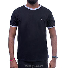 GOLF O NECK TSHIRTS-UF502 BLACK By Urban Golf at Kapruka Online for specialGifts