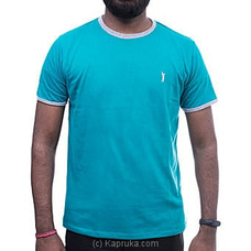 GOLF O NECK TSHIRTS-UF505 AQURE GREEN By Urban Golf at Kapruka Online for specialGifts