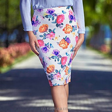 Printed Strech Skirt -LZ260001 By LADY HOLTON at Kapruka Online for specialGifts
