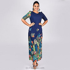 LONG SLEEVES MAXI DRESS - FLORAL By NA at Kapruka Online for specialGifts
