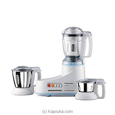Panasonic 3 Jar Mixer Grinder 550W PNMGMXAC350 By Panasonic at Kapruka Online for specialGifts