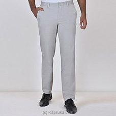 Moose Men`s Straight Fit Pant-m109-light Grey at Kapruka Online