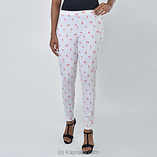 Moose Women`s Premium Legging-M302-Red Bird Print By MOOSE at Kapruka Online for specialGifts