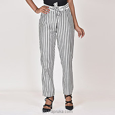 Moose Women`s Club Pant-M312-Black Stripes By MOOSE at Kapruka Online for specialGifts