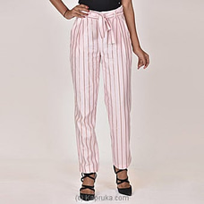 Moose Women`s Club Pant-M312-Pink Stripes By MOOSE at Kapruka Online for specialGifts