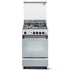 Elba Cooker With 3 Gas Burners - 1 Hot Plate With Gas Oven - 50Cm - Ss EBCK55X320 By Elba at Kapruka Online for specialGifts