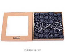 Cotton/Linen Bow Tie-Black Floral Printed By MOZ at Kapruka Online for specialGifts