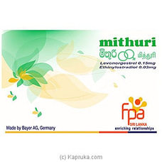 Mithuri - Oral Contraceptives (OCP) By Mithuri|FPA at Kapruka Online for specialGifts