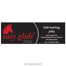 Easy Glide Delay Lubricating Jelly at Kapruka Online