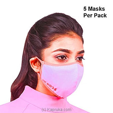 Masks 5 Pack - Ladies Herbal Air Purifying And Antiviral Mask By NA at Kapruka Online for specialGifts