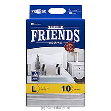 Friends Under Pads (Premium)- Pack Size 10- Large By Friends at Kapruka Online for specialGifts