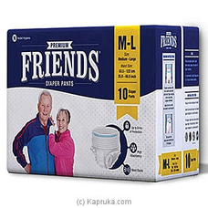 Friends Adult Diapers Pull-Ups- Pack Size 10- By Friends at Kapruka Online for specialGifts