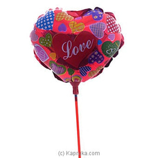 Love You Heart Foil Balloon at Kapruka Online