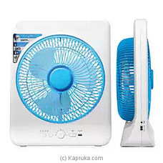 Sanford Rechargeable Box Fan 12` SF-919BFN-BS By Sanford at Kapruka Online for specialGifts