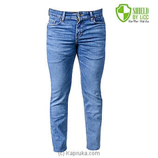 LiCC Men`s Slim Fit Jean-Mazarine Blue-M2KT04442SM By LiCC Jeans at Kapruka Online for specialGifts