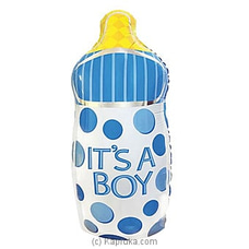It`s A Boy Foil Balloon Bottle By NA at Kapruka Online for specialGifts