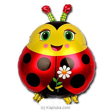 Lady Bug Foil Balloon - Large By NA at Kapruka Online for specialGifts