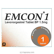 EMCON - Emergency Contracepitive Pill By Emcon|PSL at Kapruka Online for specialGifts