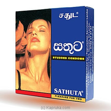 Sathuta Studded Condom By Sathuta|PSL at Kapruka Online for specialGifts