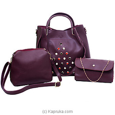 Women`s 3 Piece Handbag Set By NA at Kapruka Online for specialGifts