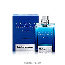 Acqua Essenziale Blu for Men 100ml By NA at Kapruka Online for specialGifts