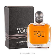 Armani Stronger With You EDT for Men 50ml By NA at Kapruka Online for specialGifts