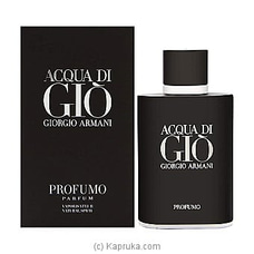 Armani Acqua Di Gio Profumo for Men Eau De 75ml By NA at Kapruka Online for specialGifts
