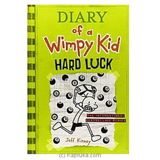Diary Of A Wimpy Kid- Hard Luck- Jeff Kinney By M D Gunasena at Kapruka Online for specialGifts