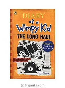 Diary of A Wimpy Kid- The Long Haul- Jeff Kinney By M D Gunasena at Kapruka Online for specialGifts