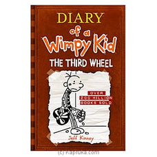 Diary Of  A Wimpy Kid- The Third Wheel- Jeff Kinney By M D Gunasena at Kapruka Online for specialGifts