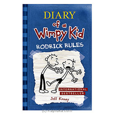 Diary Of A Wimpy Kid Rodrick Rules- Jeff Kinney By M D Gunasena at Kapruka Online for specialGifts