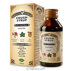 Healing Herbs Cough Syrup - 100ml By Healing Herbs at Kapruka Online for specialGifts