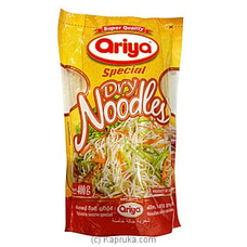Ariya Special Dry Noodles 400g By Ariya at Kapruka Online for specialGifts