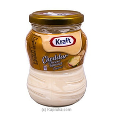 Kraft Cheddar Cheese Spread Original - 230g By Kraft|Globalfoods at Kapruka Online for specialGifts