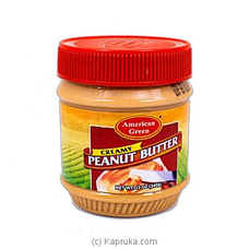 American Green Peanut Butter Creamy 340g By Globalfoods at Kapruka Online for specialGifts