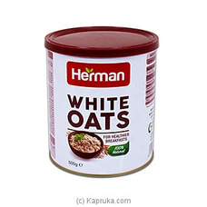 Herman White Oats 500g By Herman|Globalfoods at Kapruka Online for specialGifts