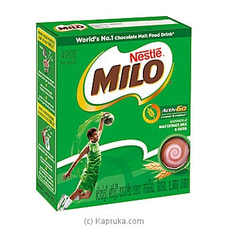 MILO 400g Bag In Box By Milo|Nestle at Kapruka Online for specialGifts