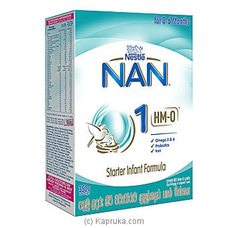 Nestle NAN 1 HMO Starter Infant Formula With Iron, 350g By Nestle at Kapruka Online for specialGifts
