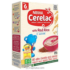 Nestlé CERELAC Red Rice And Milk, 250g at Kapruka Online