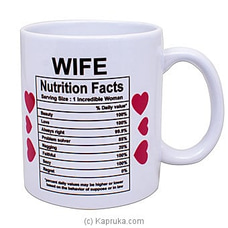 Darling Wifey Mug By Habitat Accent at Kapruka Online for specialGifts