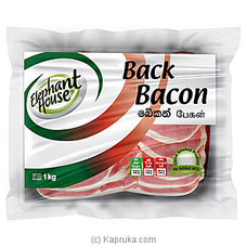 Elephant House Back Bacon 1kg at Kapruka Online