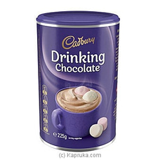 Cadbury Drinking Chocolate 225g By Cadbury|Globalfoods at Kapruka Online for specialGifts