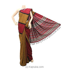 Standard Cotton Saree-C1274 By Cotton Weavers at Kapruka Online for specialGifts