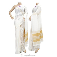 Standard Cotton Saree-C1405 By Cotton Weavers at Kapruka Online for specialGifts