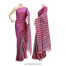 Standard Cotton Saree-C1406 By Cotton Weavers at Kapruka Online for specialGifts