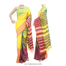 Standard Cotton Saree-c1407 at Kapruka Online